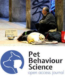Homeless people pets